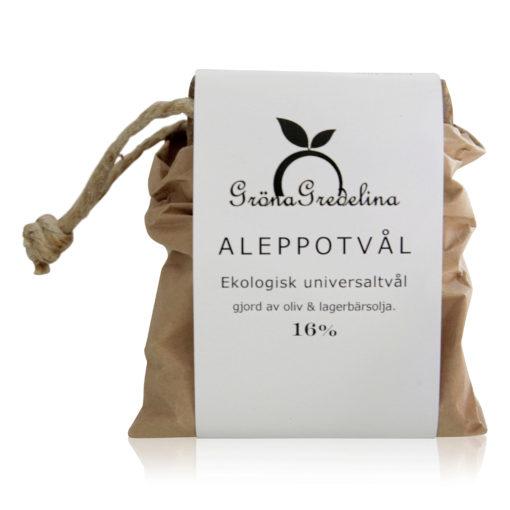 Aleppotvål 16% Gröna Gredelina