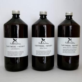 ekologiskt tvättmedel lavevendel tvättnötter