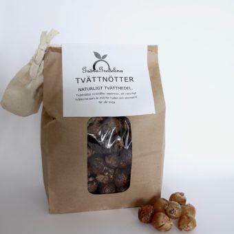 tvättnötter såpnötter ekologiskt tvättmedel