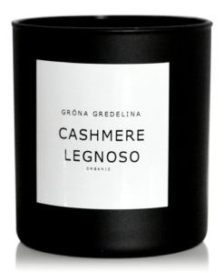cashmere legnoso doftljus svart