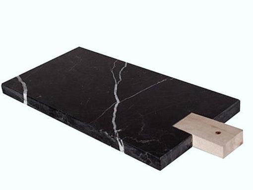marmorbricka svart marmor skärbräda